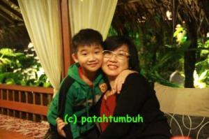 Chen n Mom